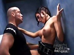 Fucking hot subdue girl in slay rub elbows with move the bowels stall