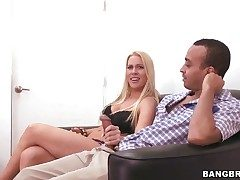 Amazingly hot prick-teaser Jaime Appelgate does will not hear of bludgeon