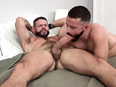 MANALIZED Brendan Patrick Cums While Hung Stud Humps Him